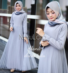 Alana Dress Grey