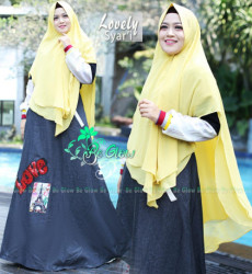 Lovely Set Syari Lemon