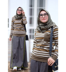 Miqaila Set Brown