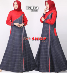 Raisa Dress Red