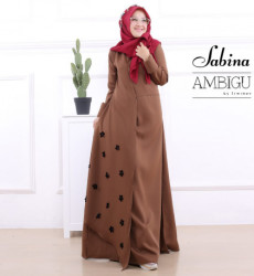 Sabina Dress Brown