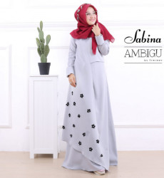 Sabina Dress Grey